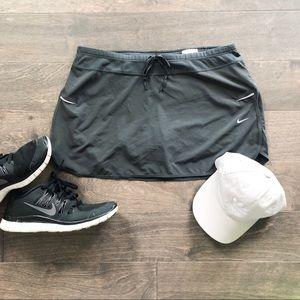 Nike Dri Fit Dark Gray Skort